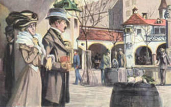 First Public Bar Serving of Hofbräu Beer image