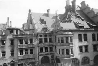 Hofbräuhaus Bombed image